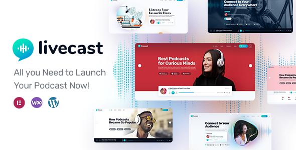 Livecast Banner