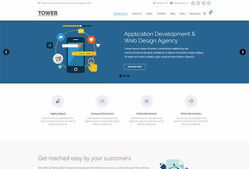 Tower SEO WordPress Theme