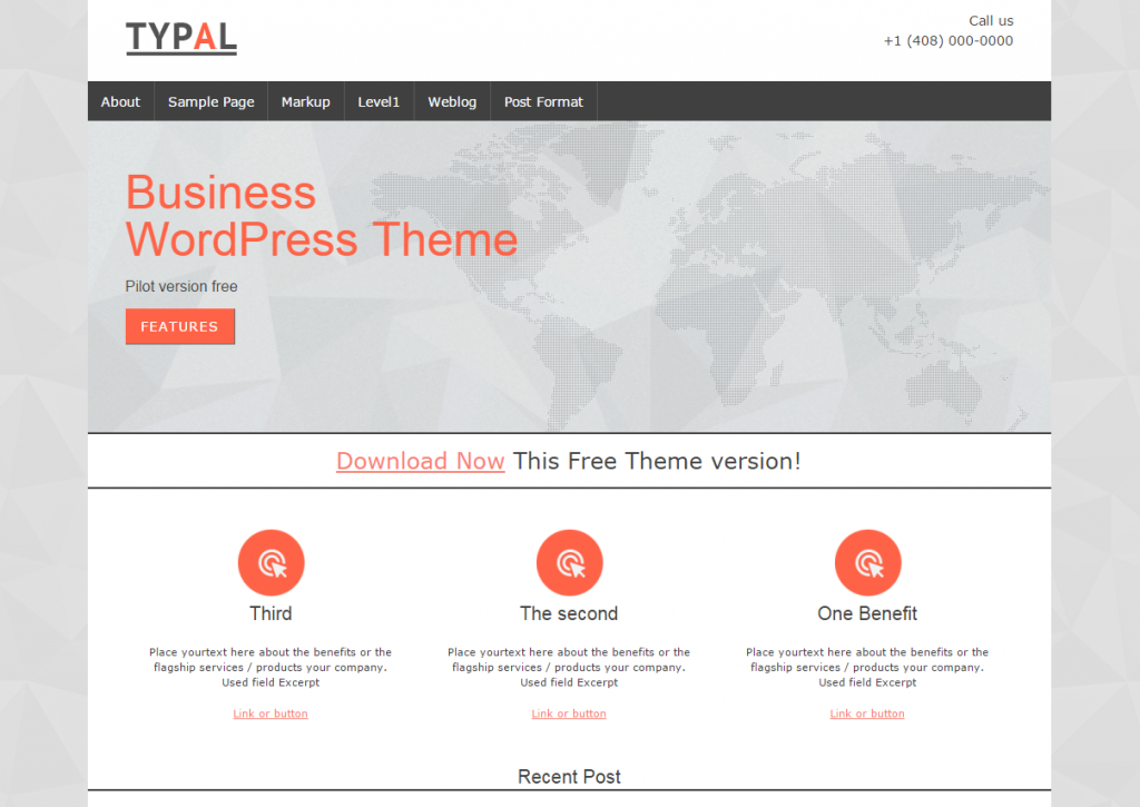 TYPAL Business WordPress Theme
