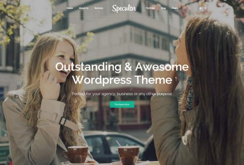 Specular Digital Agency WordPress Theme