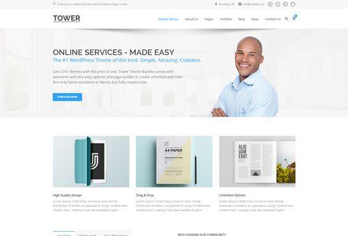 Tower Classic WordPress Theme