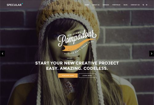 Specular Creative WordPress Theme