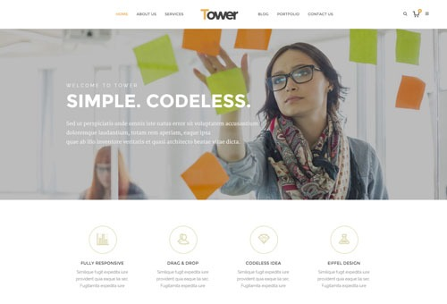 Tower Digital WordPress Theme