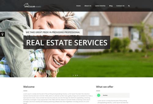Specular Estate WordPress Theme