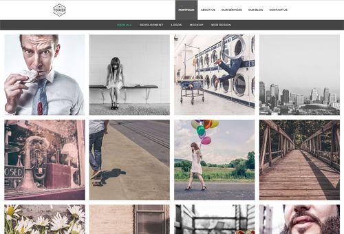 Tower FullPortfolio WordPress Theme