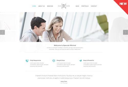 Specular Minimal WordPress Theme