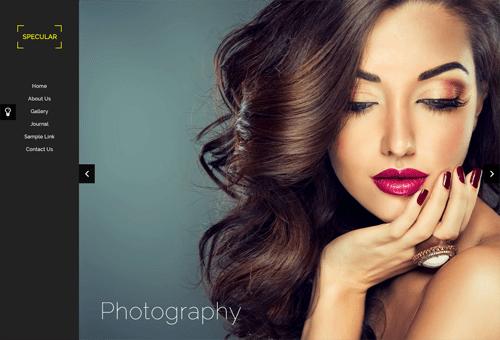 Specular Photography WordPress Theme