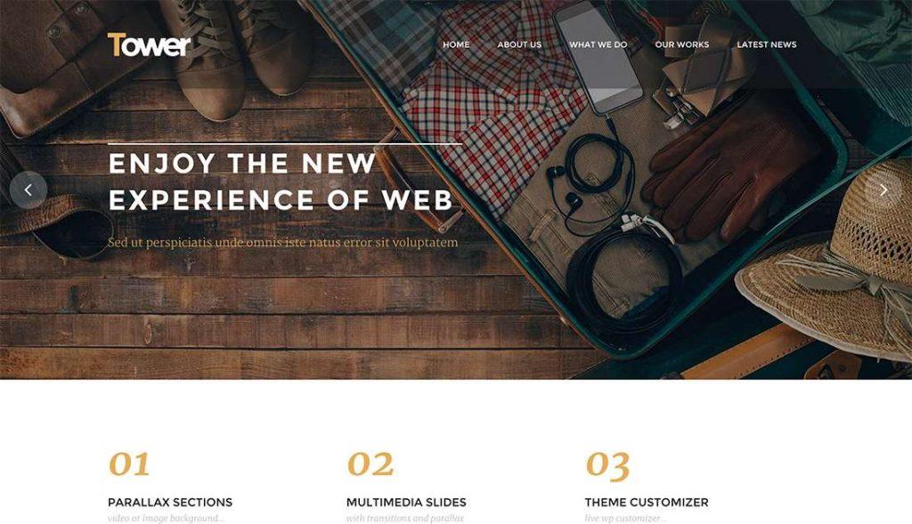 New Tower – Creative Multi Purpose WordPress ThemeTower – Creative Multi Purpose WordPress Theme-compressed