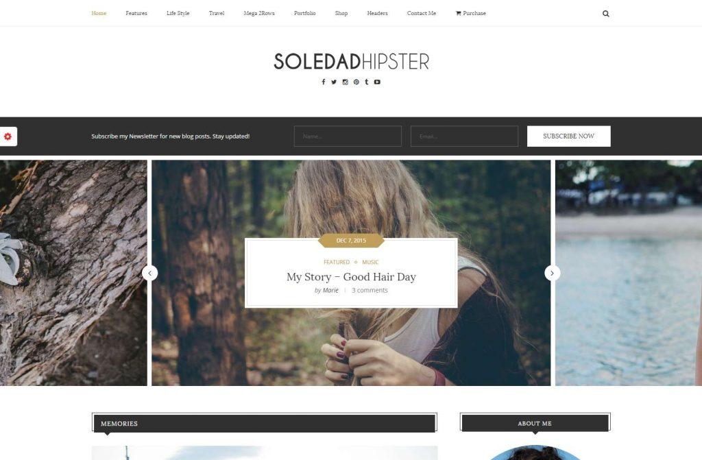 Soledad – Best Vintage Retro WordPress Themes 2016-compressed