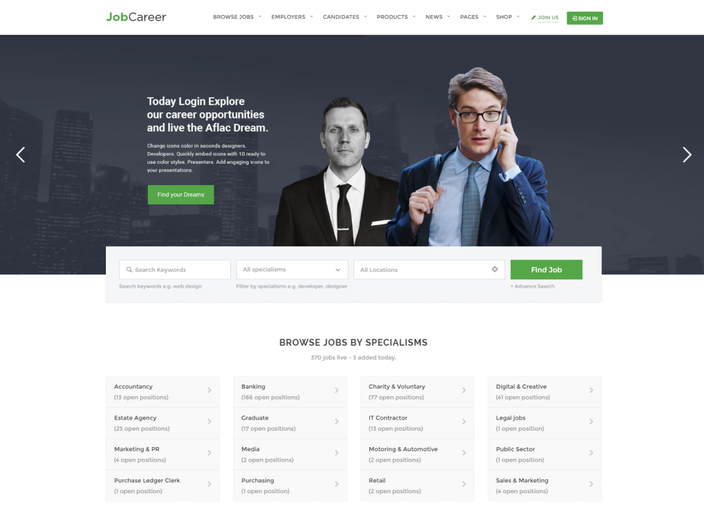 jobcareer-just-another-wordpress-site