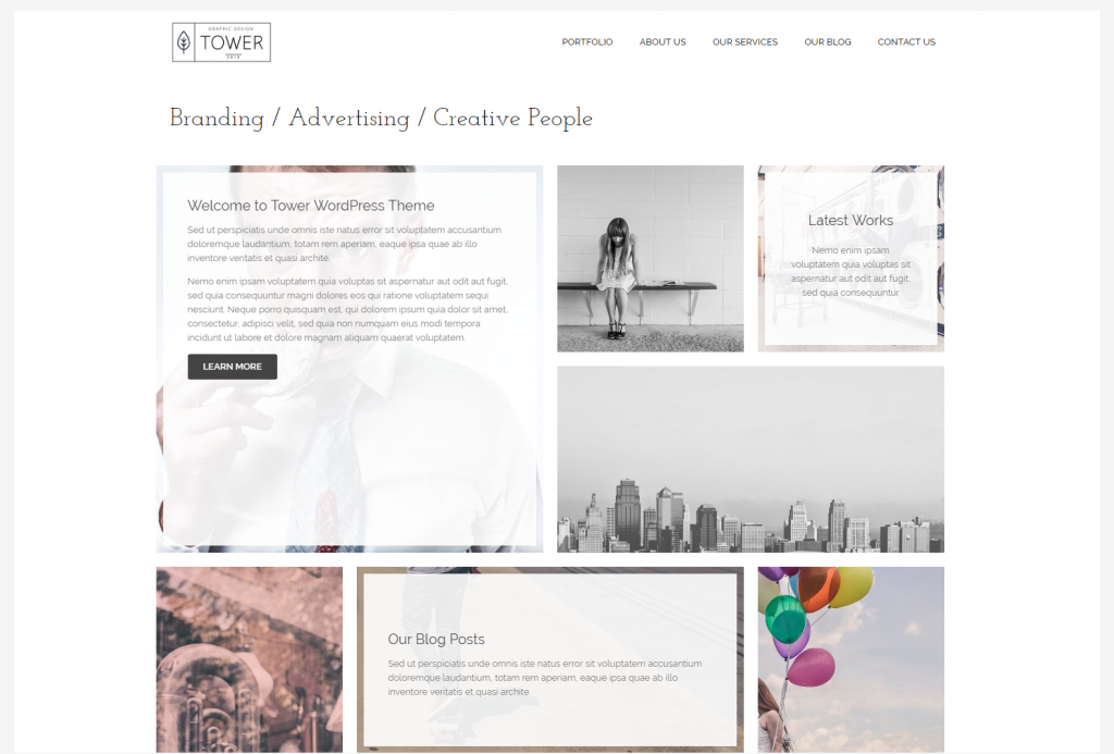 masonry-portfolio-tower-portfolio-gallery-photography-wordpress-theme