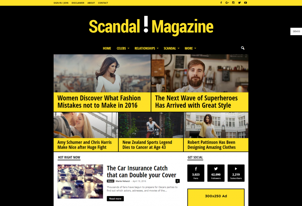 newsmag-scandal-just-another-wordpress-site