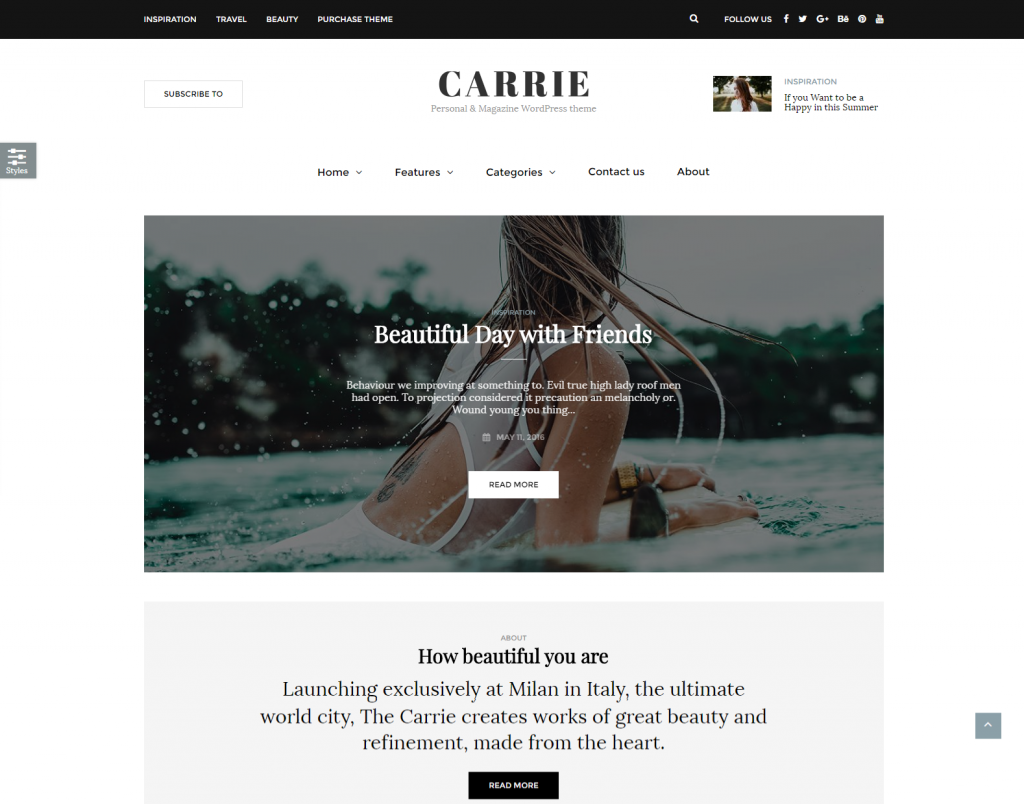 carrie-personal-magazine-wordpress-theme