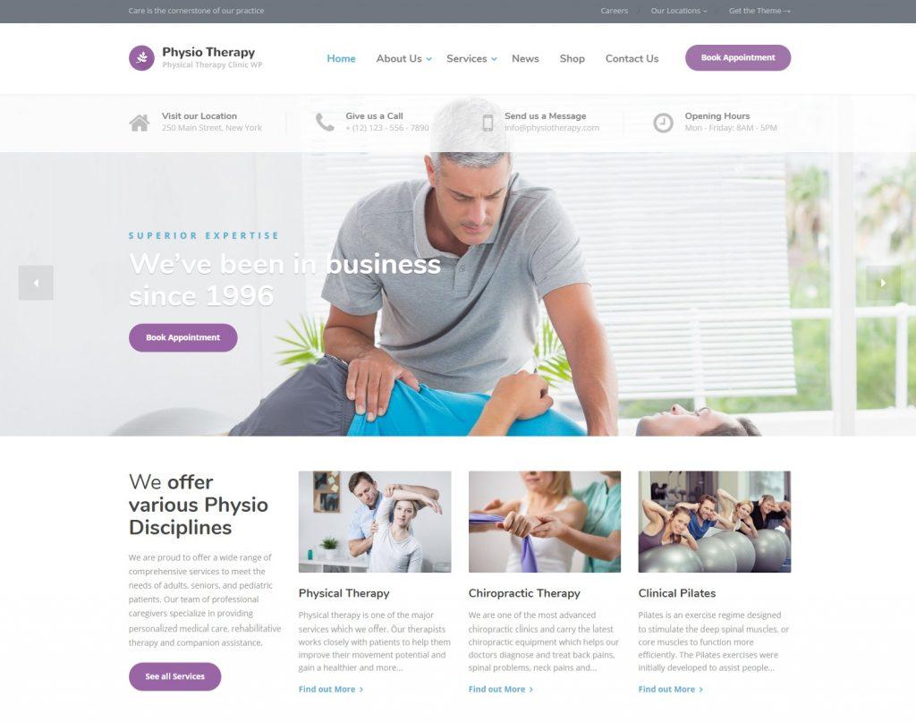 wordpress medical theme