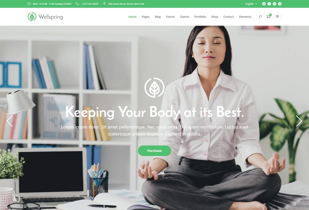 Wellspring – A Health Lifestyle and Wellness Theme-compressed