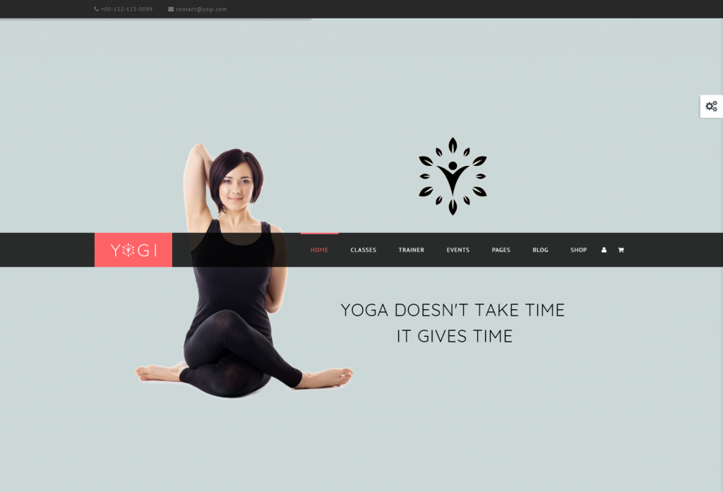 Yogi – Yoga Health WordPress theme