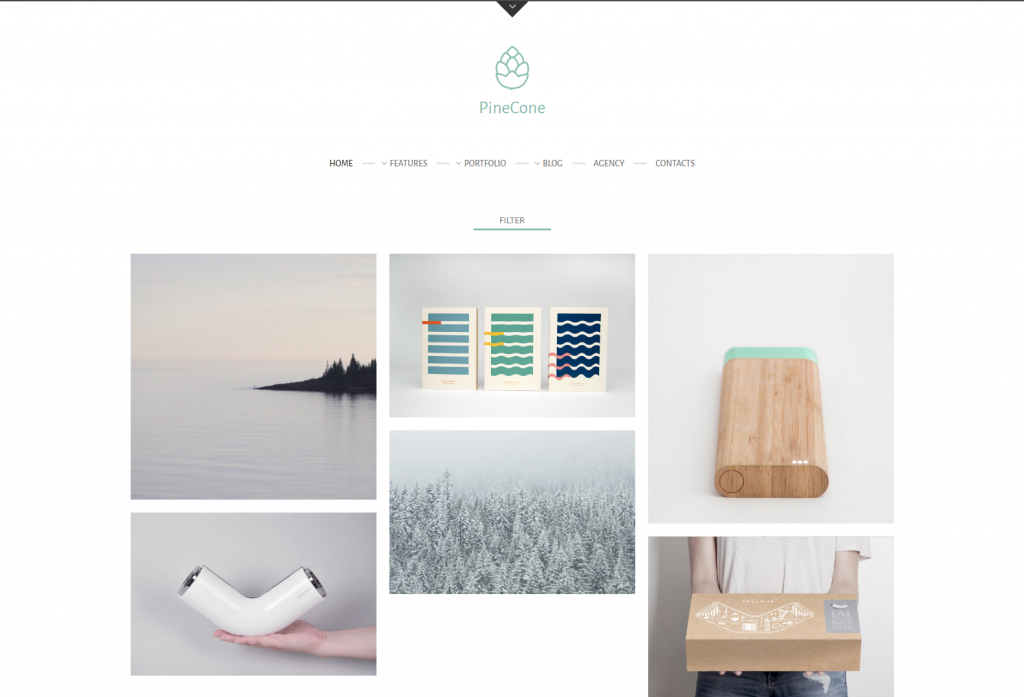 PineCone – Creative Portfolio and Blog for Agency