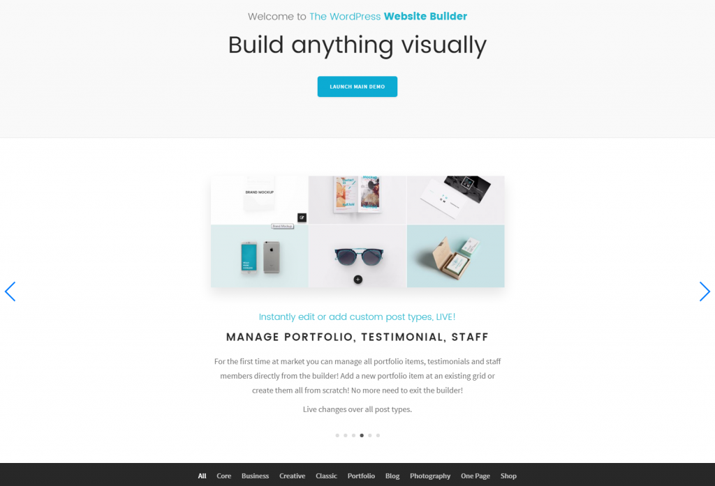 Folie – The WordPress Website Builder – Just another WordPress site