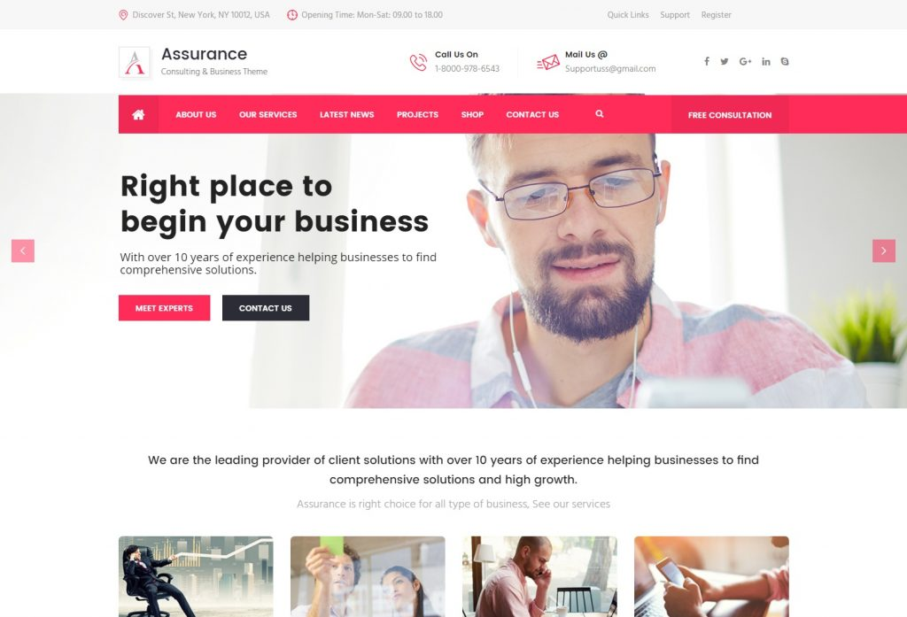 Assurance WP Theme – Assurance Consulting Business WordPress Theme-compressed