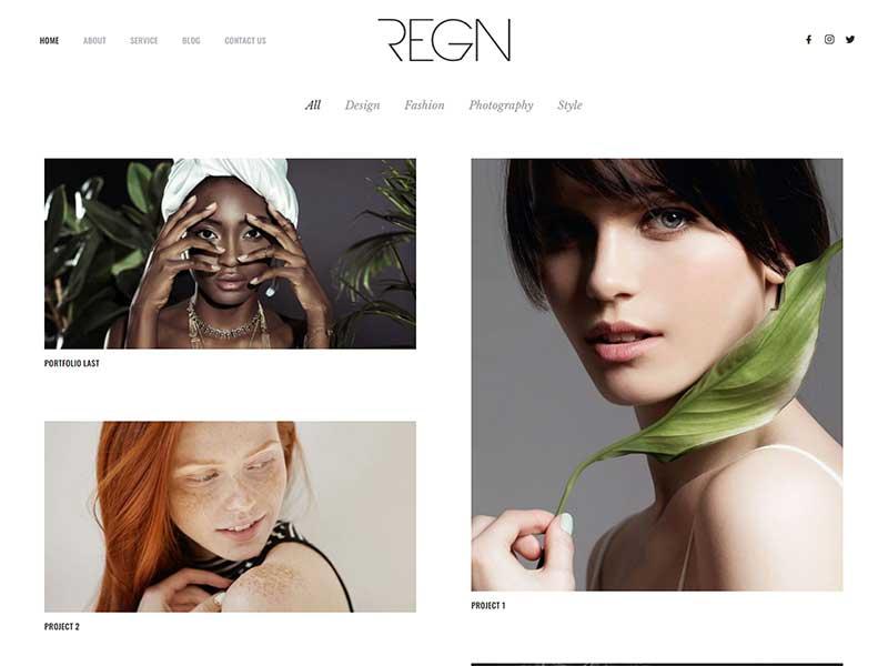 Regn Portfolio