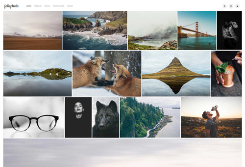 Folie Photography WordPress Theme