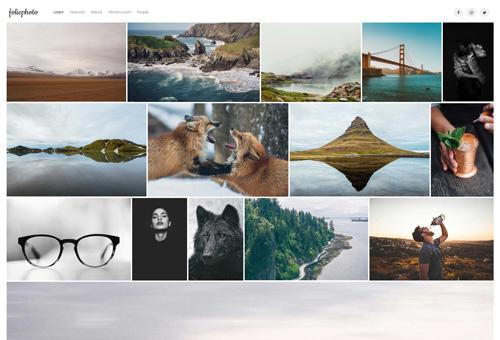 Folie Photography WordPress Theme