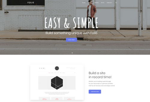 Folie Simple Business WordPress Theme