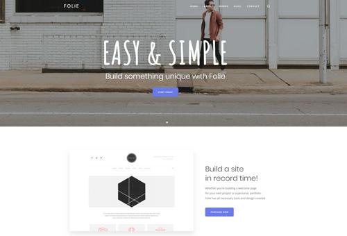 Folie Simple Business WordPress Theme