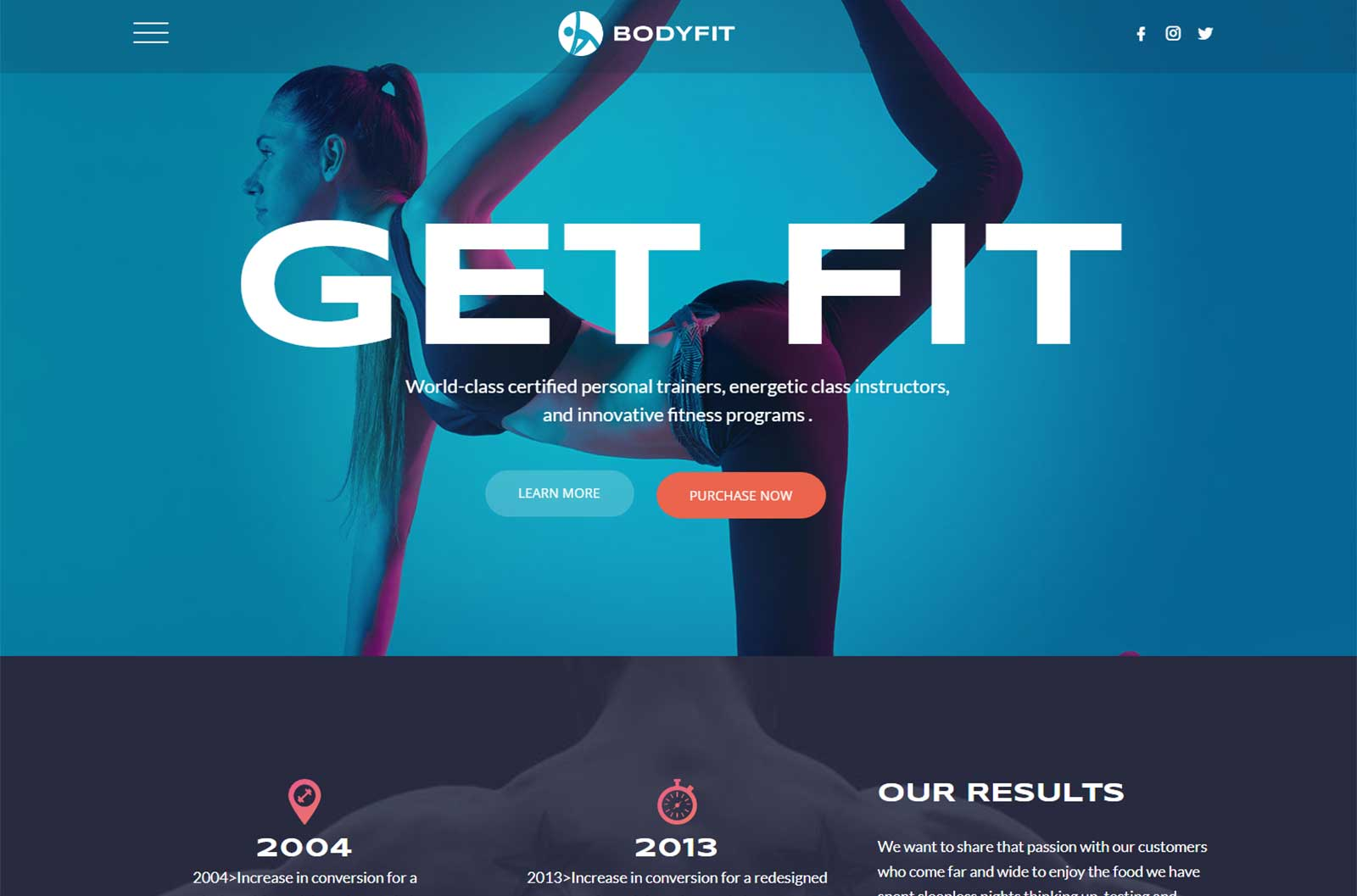 Starting a fitness blog: Premium Themes: Regn
