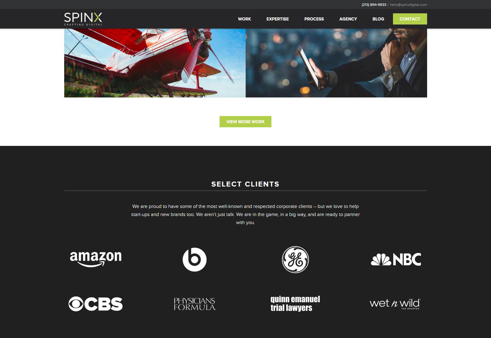 SPINX - Best Web Agencies in Los Angeles