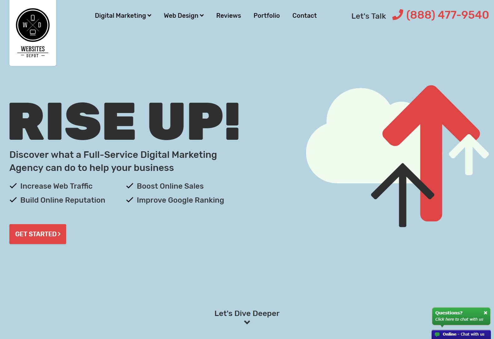 WEBSITES DEPOT - Best Web Agencies in Los Angeles