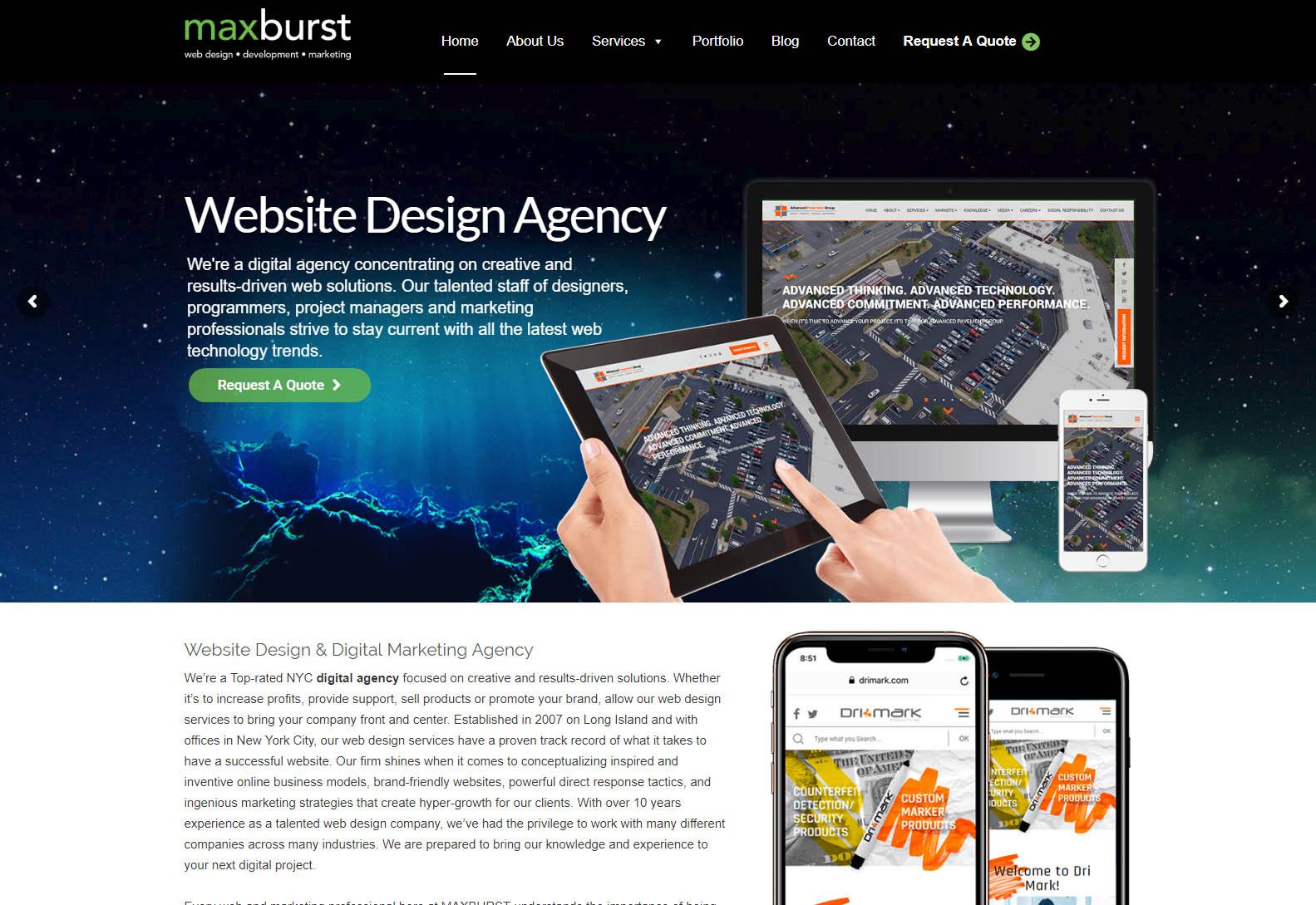 MaxBurst - Web Agencies in New York