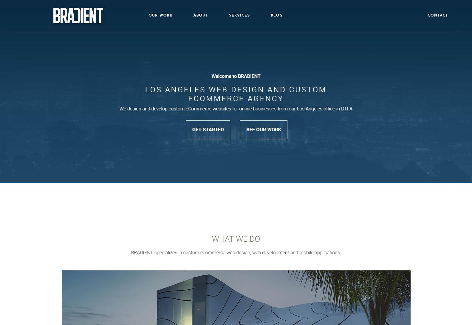 BRADIENT - Best Web Agencies in Los Angeles