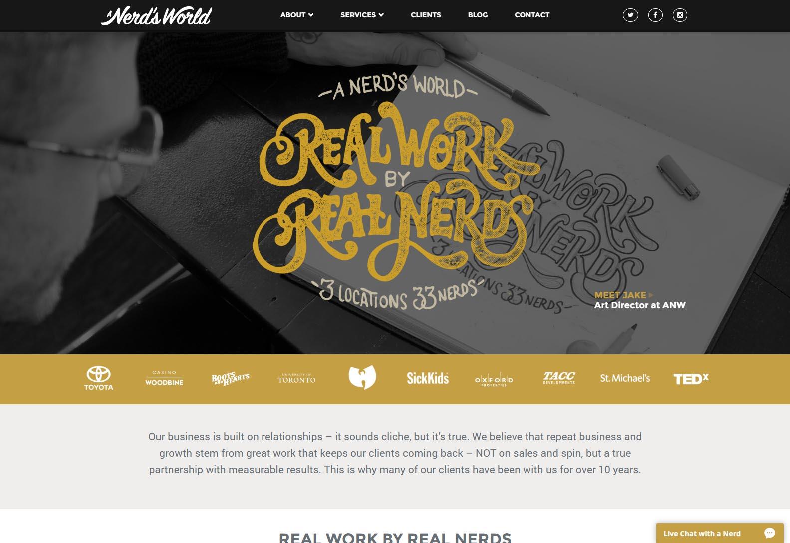 Nerds World - Web Agencies in Toronto
