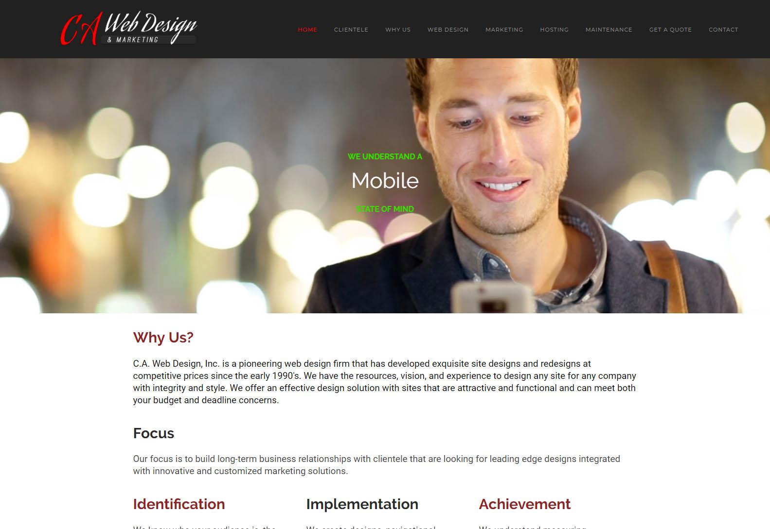 California Web Design - Web Agencies in California