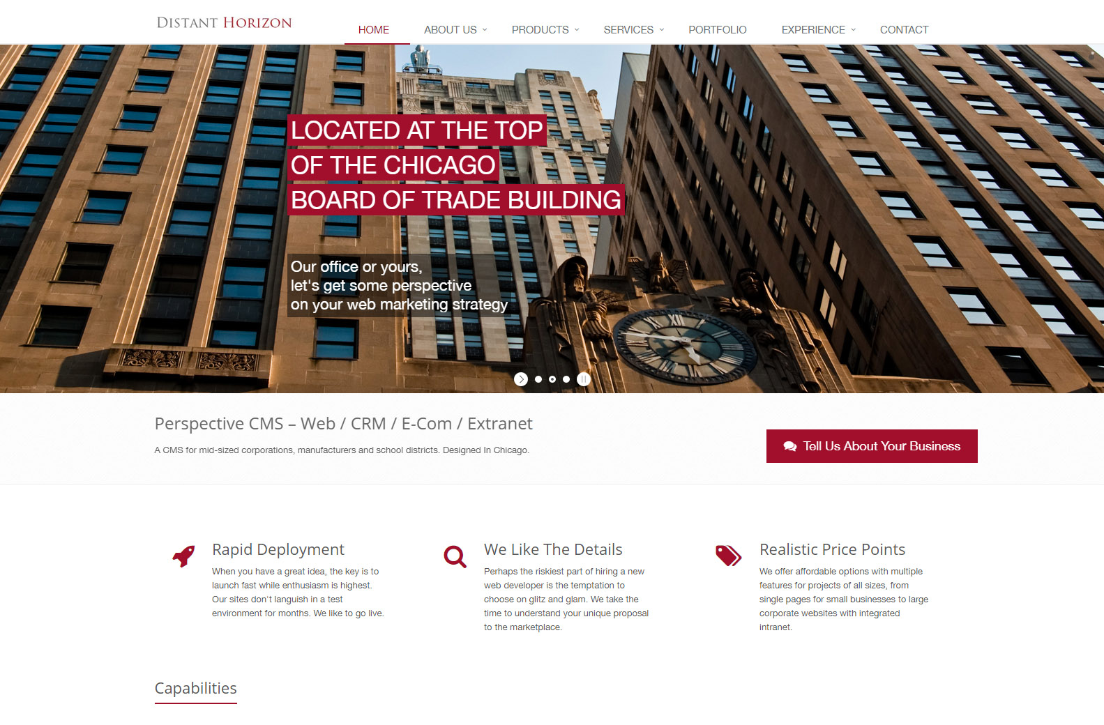 Distant Horizon - Web Agencies in Chicago