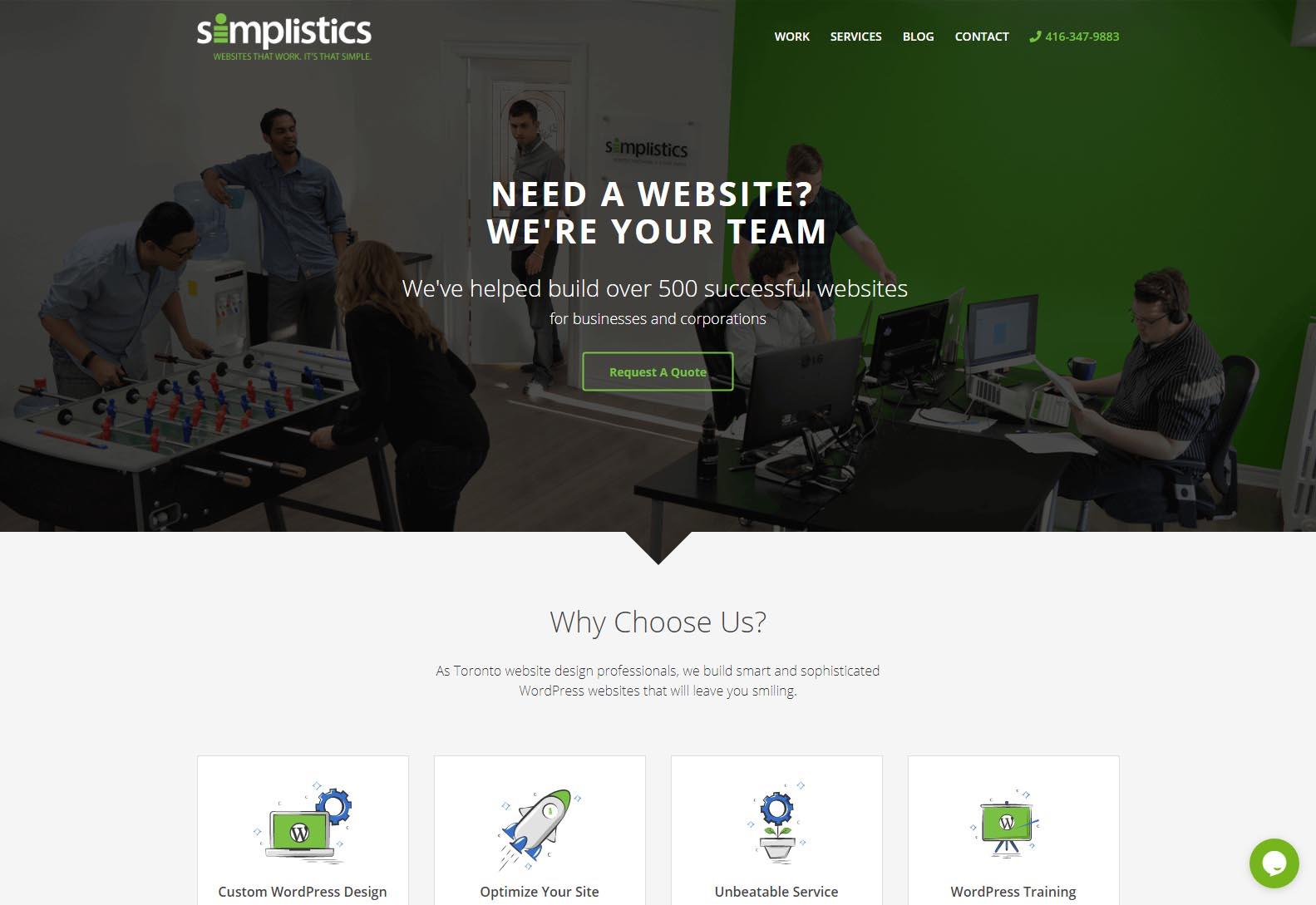 Simplicist - Web Agencies in Toronto