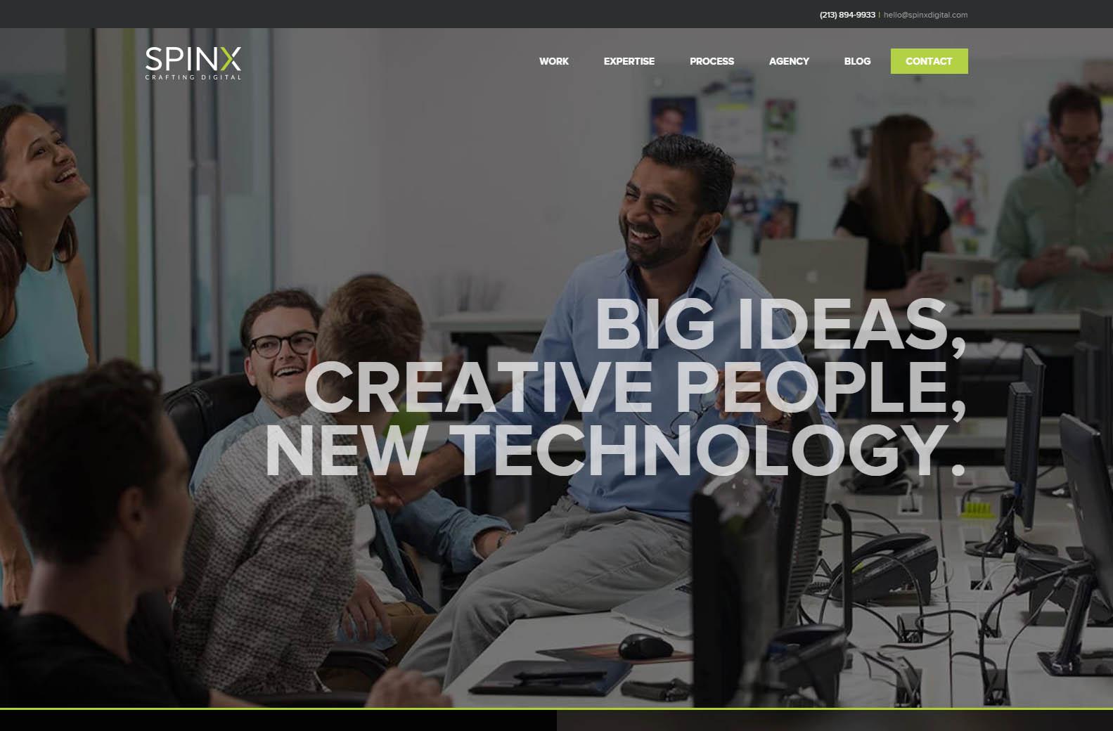 Spinx - Web Agencies in California