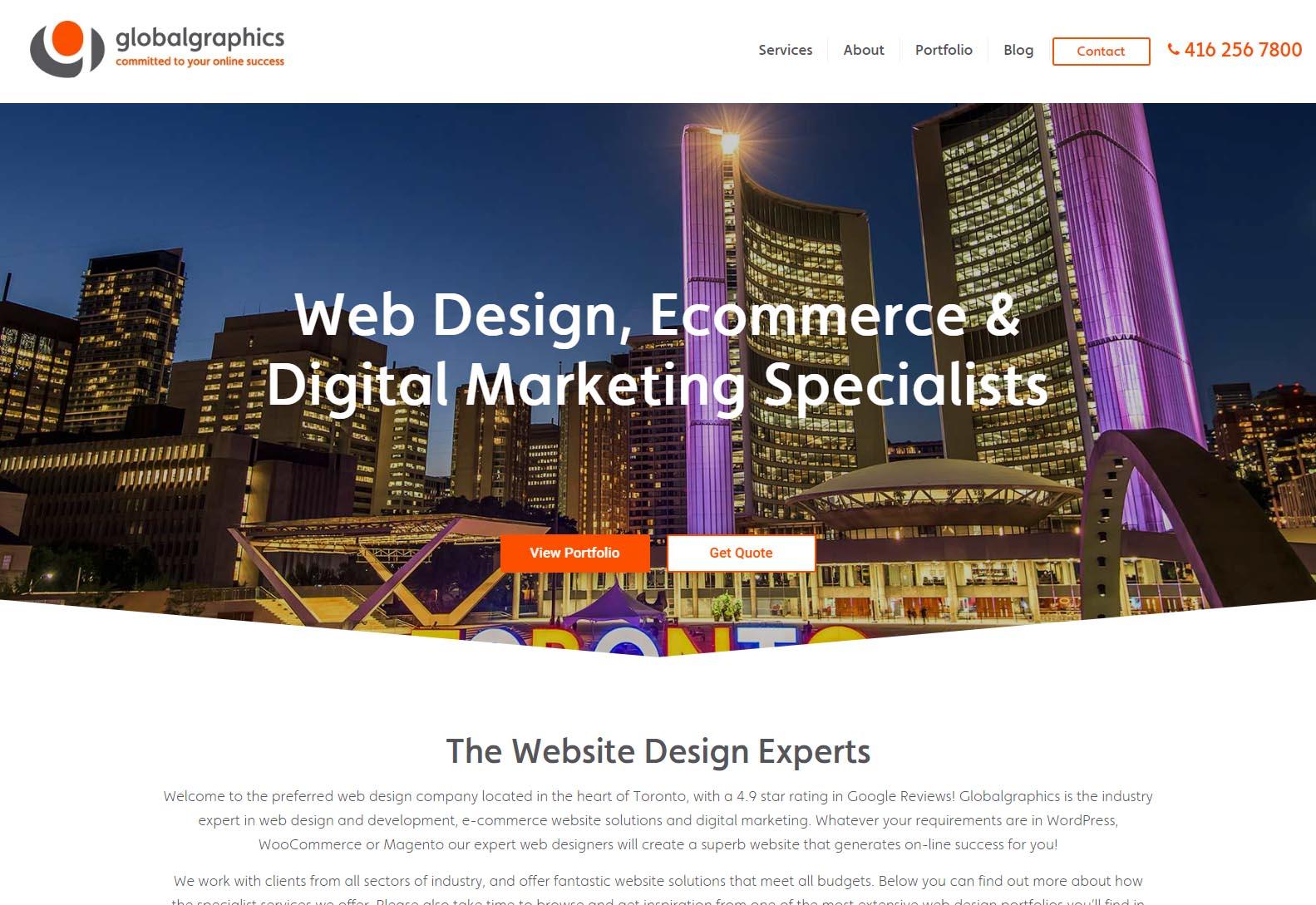 Global Graphics - Web Agencies in Toronto