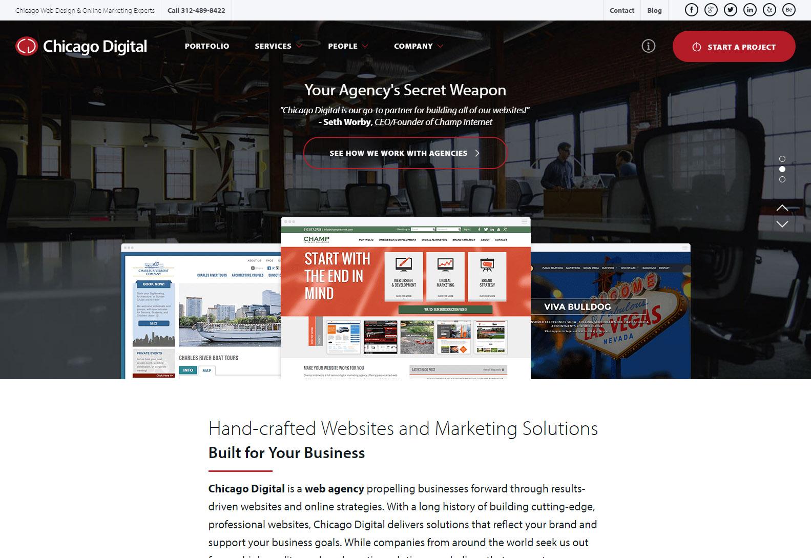 Chicago Digital - Web Agencies in Chicago