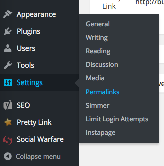 How to change permalinks in WordPress