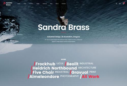 June Freelance WordPress Theme
