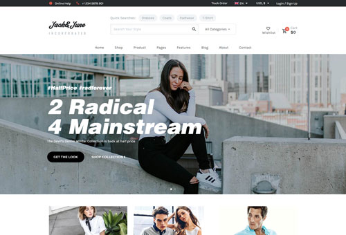 June Default WordPress Theme