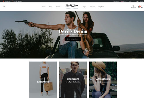 June Shop 10 WordPress Theme