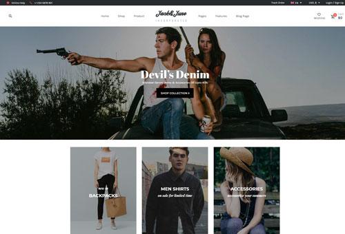 June Shop 10 WordPress Theme