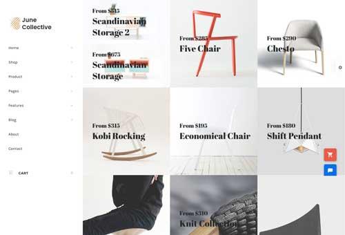 June Furniture 2 WordPress Theme