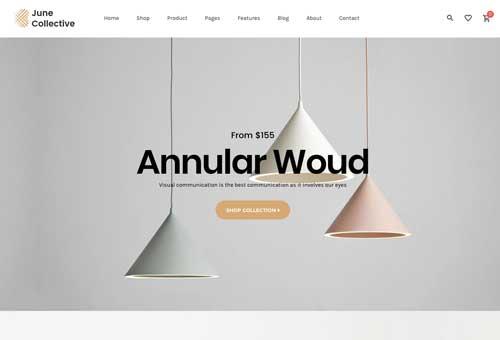 June Furniture 3 WordPress Theme