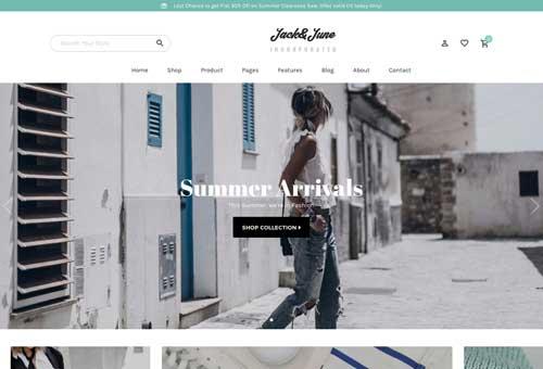 June Shop 5 WordPress Theme