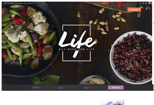 Picante Restaurant 2 WordPress Theme