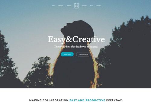 Regn Digital Agency WordPress Theme